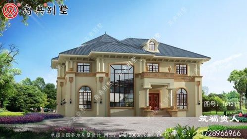 意大利风格两层小别墅设计图