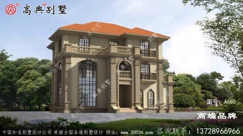 欧式风格盖房设计大全