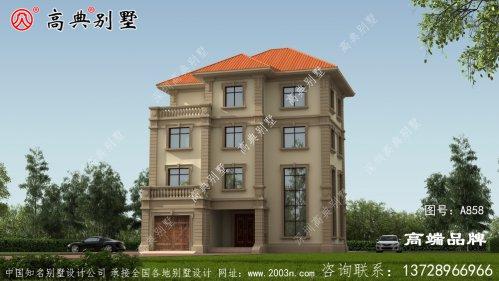 农村欧式四层别墅图片