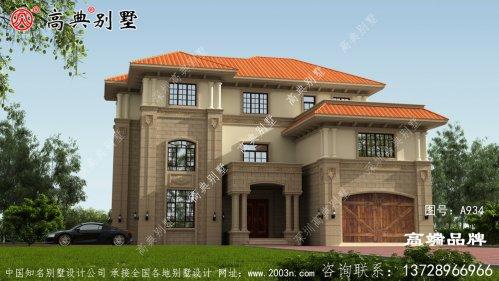 3层别墅户型图