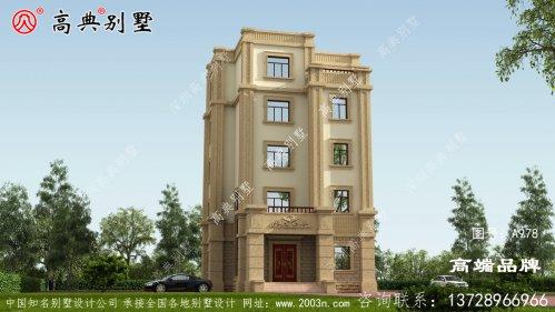 五层别墅设计图