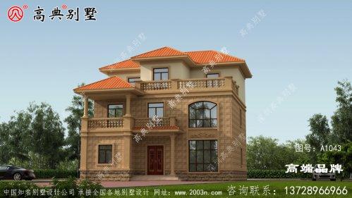 新农村三层别墅设计图