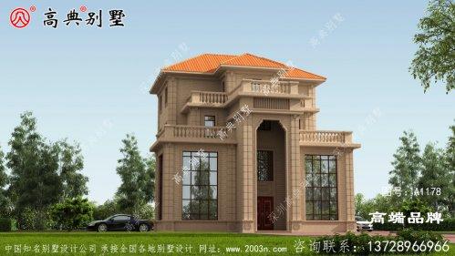 四层小别墅设计