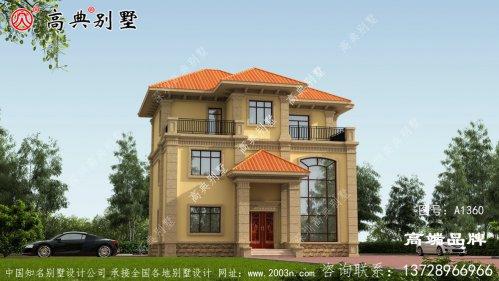 农村房屋三层设计图