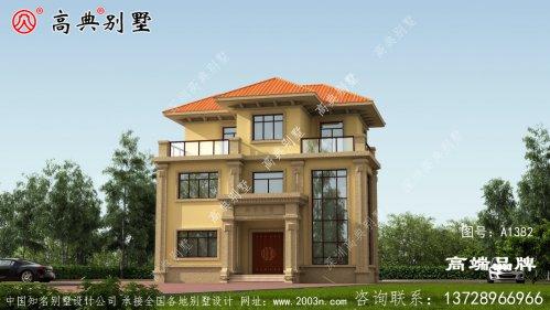 三层房屋设计图纸