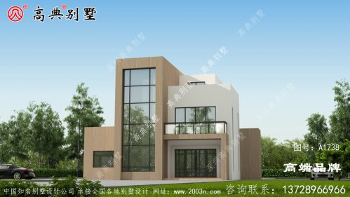 现代三层别墅设计图
