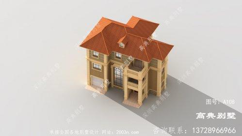 农村建设欧式图纸设计方案