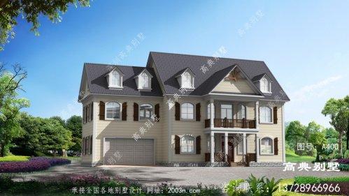 新农村两层古自建房屋设计图