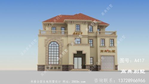 简约大方的三层欧式风格别墅