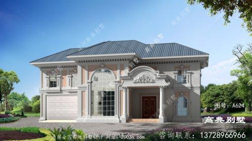 甜美风格二层复式别墅设计大全