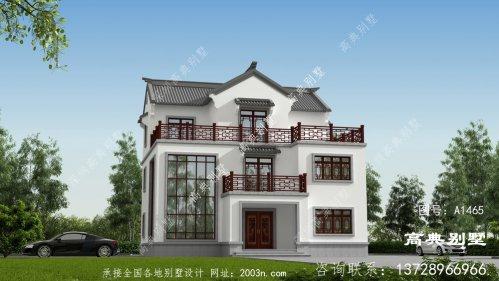 别具一格的三层中式风格别墅