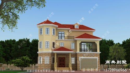 欧式风格三层别墅,不仅美观而且实用