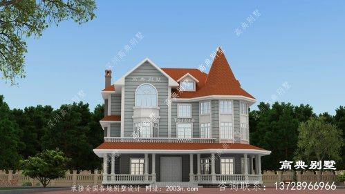 村里太多欧式豪宅了,来栋不一样的吧