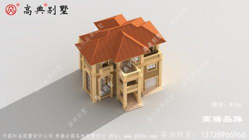 农村建房图纸方案设计,外型精美大气