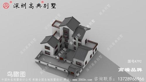 在农村修建一栋自己的别墅,艳压十里八乡
